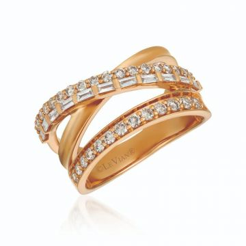 Le Vian Creme Brulee® 14k Strawberry Gold Diamond Ring