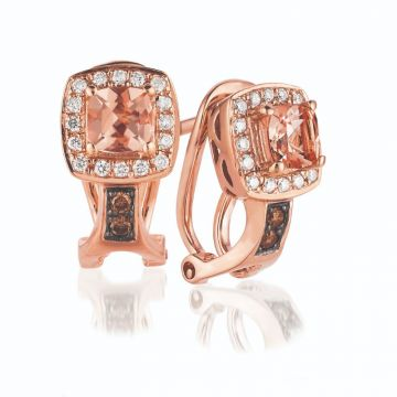 Le Vian Nude Palette® 14k Rose Gold Earrings