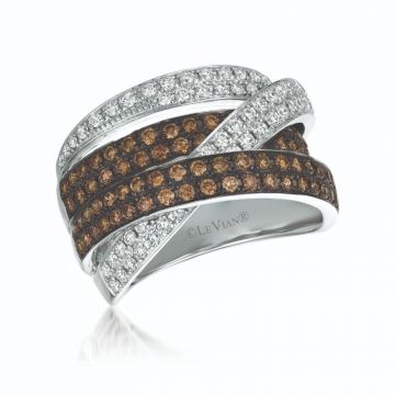 Le Vian Chocolatier® 14k Vanilla Gold Diamond Ring