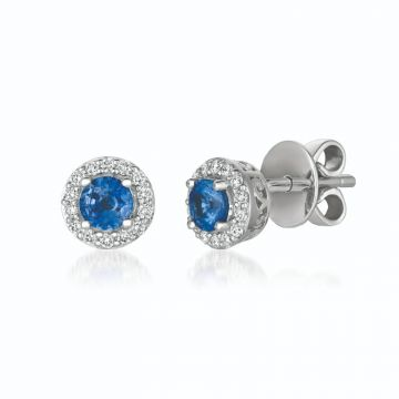Le Vian Berrylicious Blues 14k White Gold Earrings