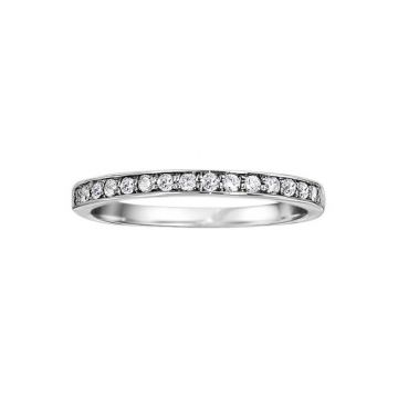 True Romance Platinum 0.20ct Diamond Wedding Band