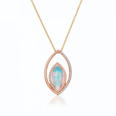 Le Vian 14k Strawberry Gold Necklace