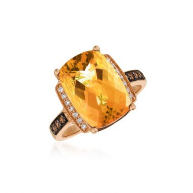 Le Vian Chocolatier 14k Strawberry Gold Ring
