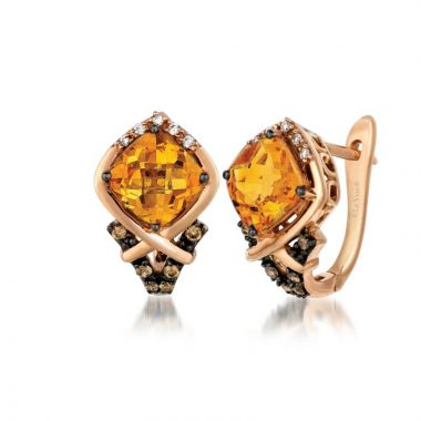 Le Vian 14k Strawberry Gold Earrings