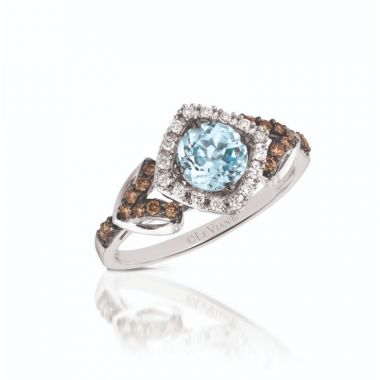 Le Vian Chocolatier® 14k Vanilla Gold Diamond & Gemstone Ring