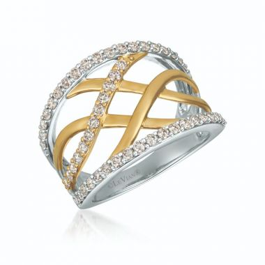 Le Vian 14k Two Tone Gold Ring