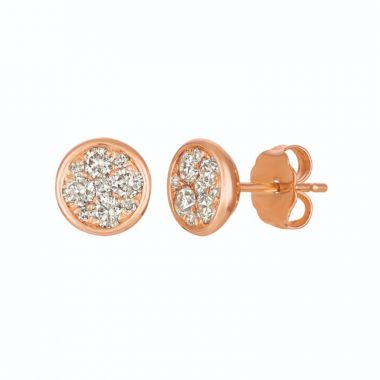 Le Vian Creme Brulee 14k Strawberry Gold Earrings
