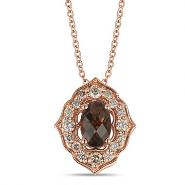 Le Vian Creme Brulee 14k Strawberry Gold Pendant