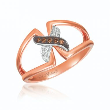 Le Vian Chocolatier 14k Two Tone Gold Ring