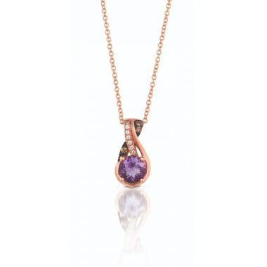 Le Vian Exotics 14k Strawberry Gold Pendant