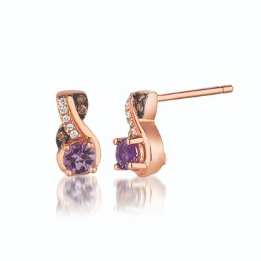 Le Vian Exotics 14k Strawberry Gold Earrings