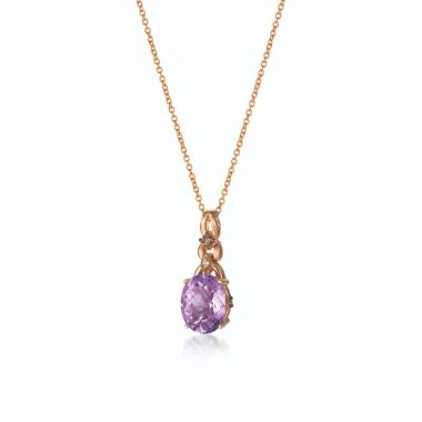 Le Vian Ombre 14k Strawberry Gold Pendant