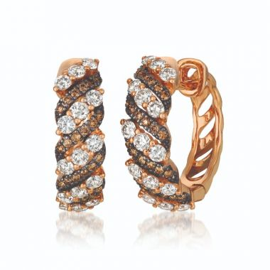 Le Vian Chocolatier 14k Strawberry Gold Earrings